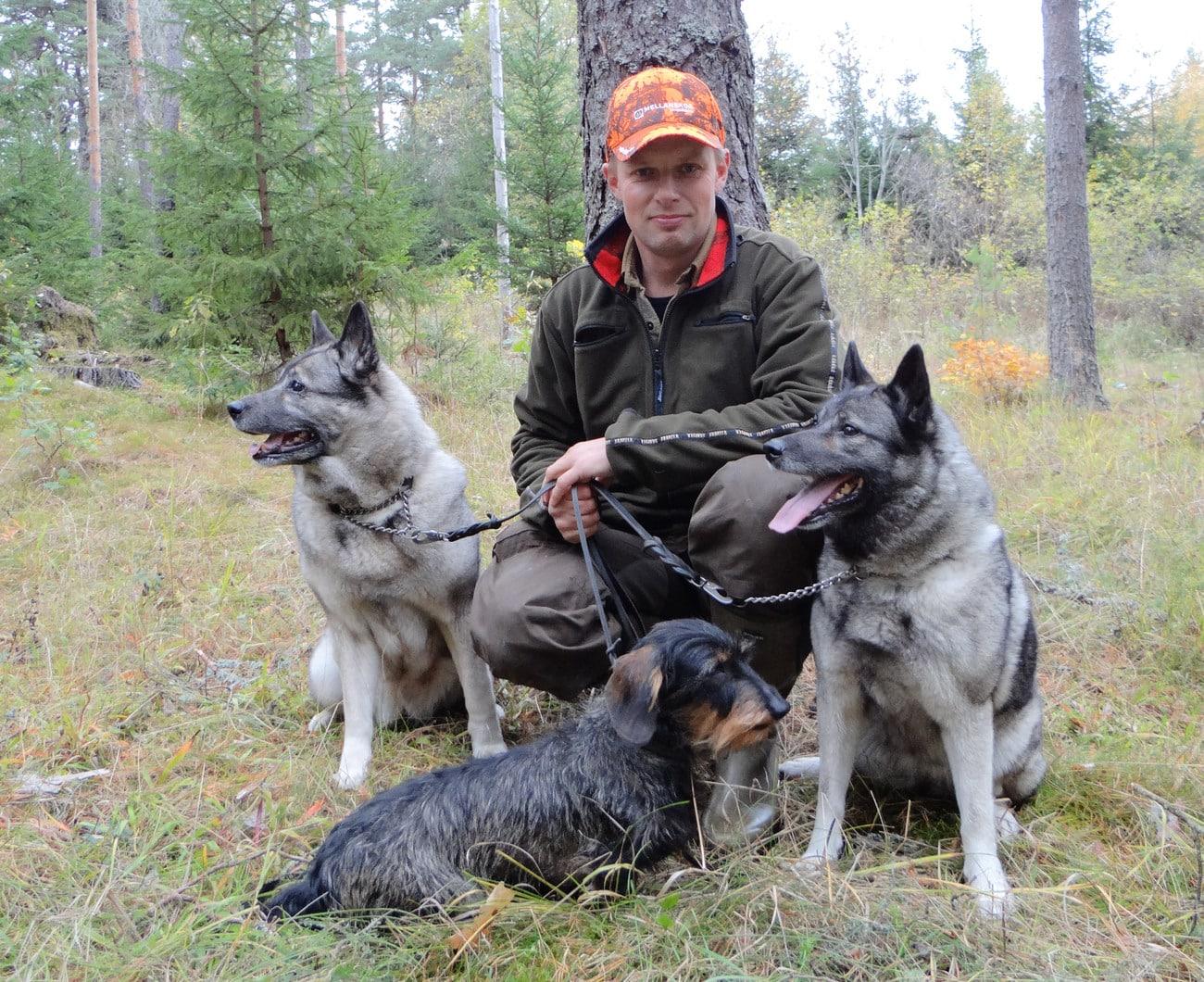 Björn Eek har tidigare arbetat som jaktvårdskonsulent på Svenska Jägareförbundet. Han tillträdde sin tjänst på SKK i slutet av förra året. Foto: Stephan Ackerstierna