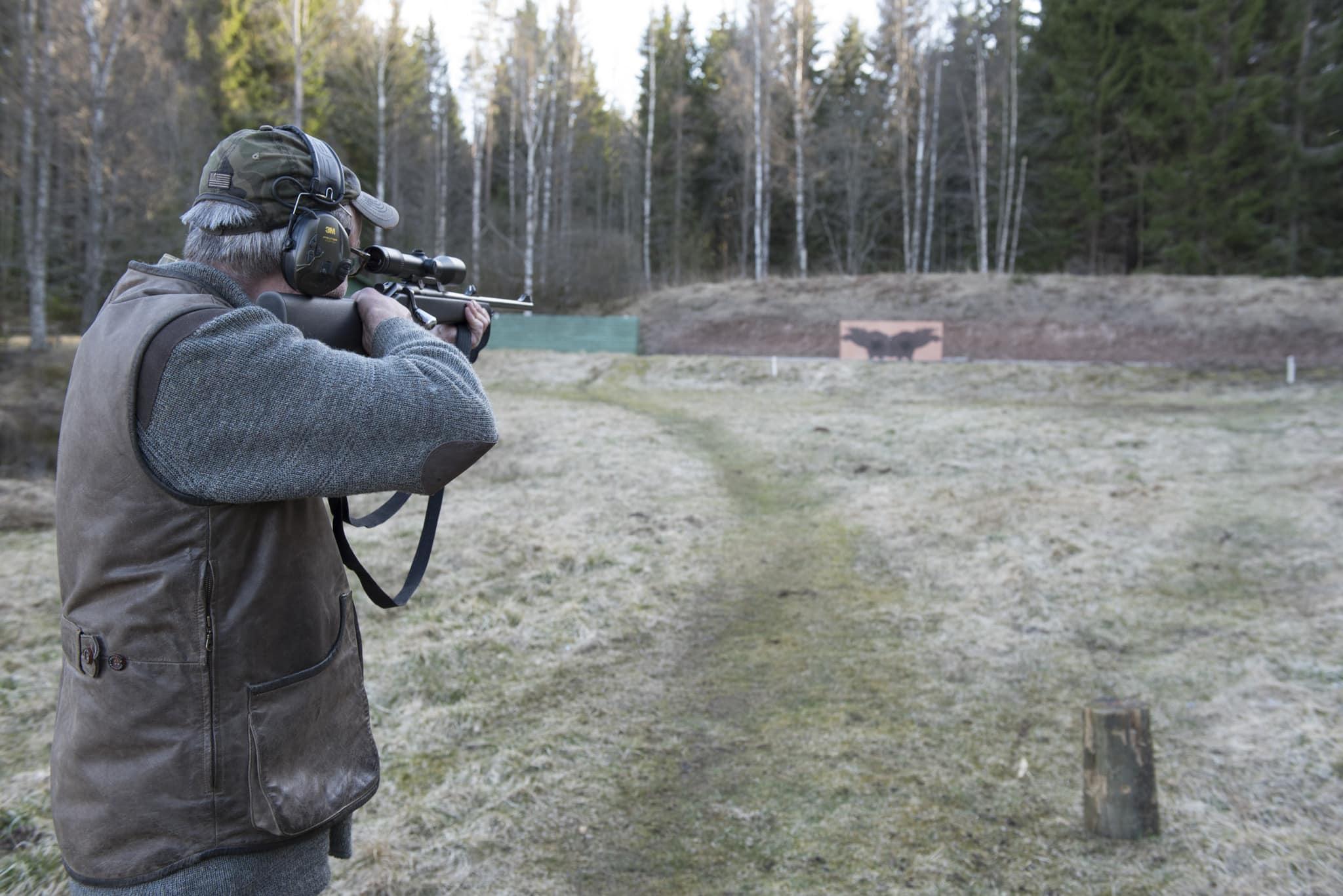 Krav på ett nytt och mer varierat älgskytteprov framförs i en motion till årsstämman. Foto: Jan Henricson