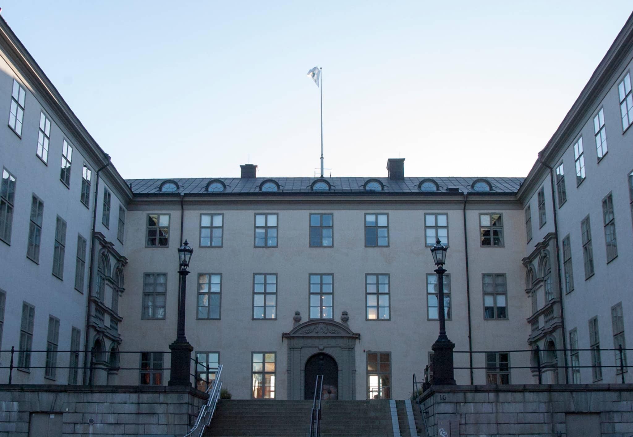 I dag startade förhandlingarna i det så kallade Lillhärdalsfallet vid Svea hovrätt i Stockholm. Foto: Martin Källberg