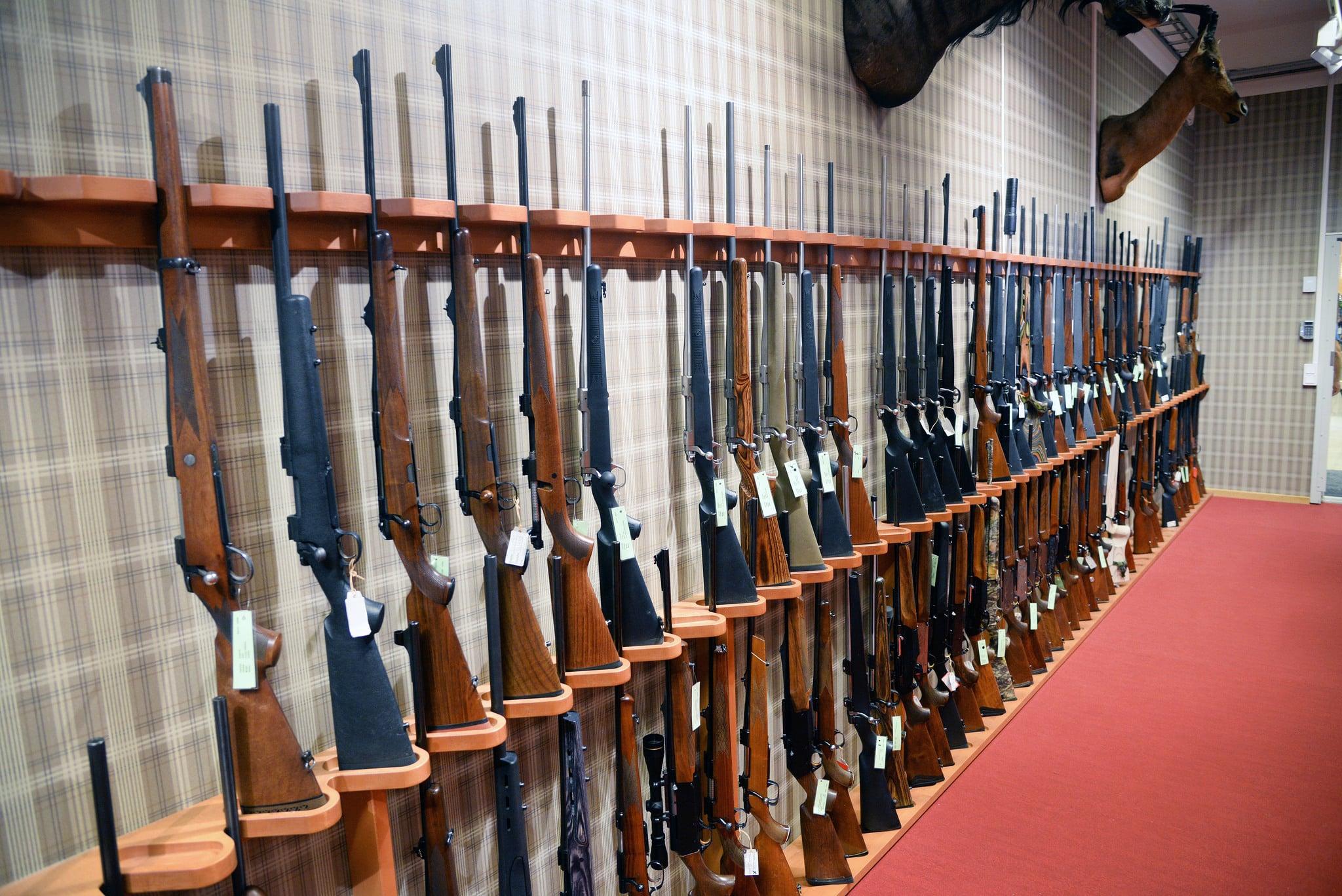 Företrädare för tre borgerliga partier vill att handläggningstiderna vid licensprövning av jaktvapen och vapen för prickskytteändamål ska vara likartade i hela landet. Foto: Lars-Henrik Andersson
