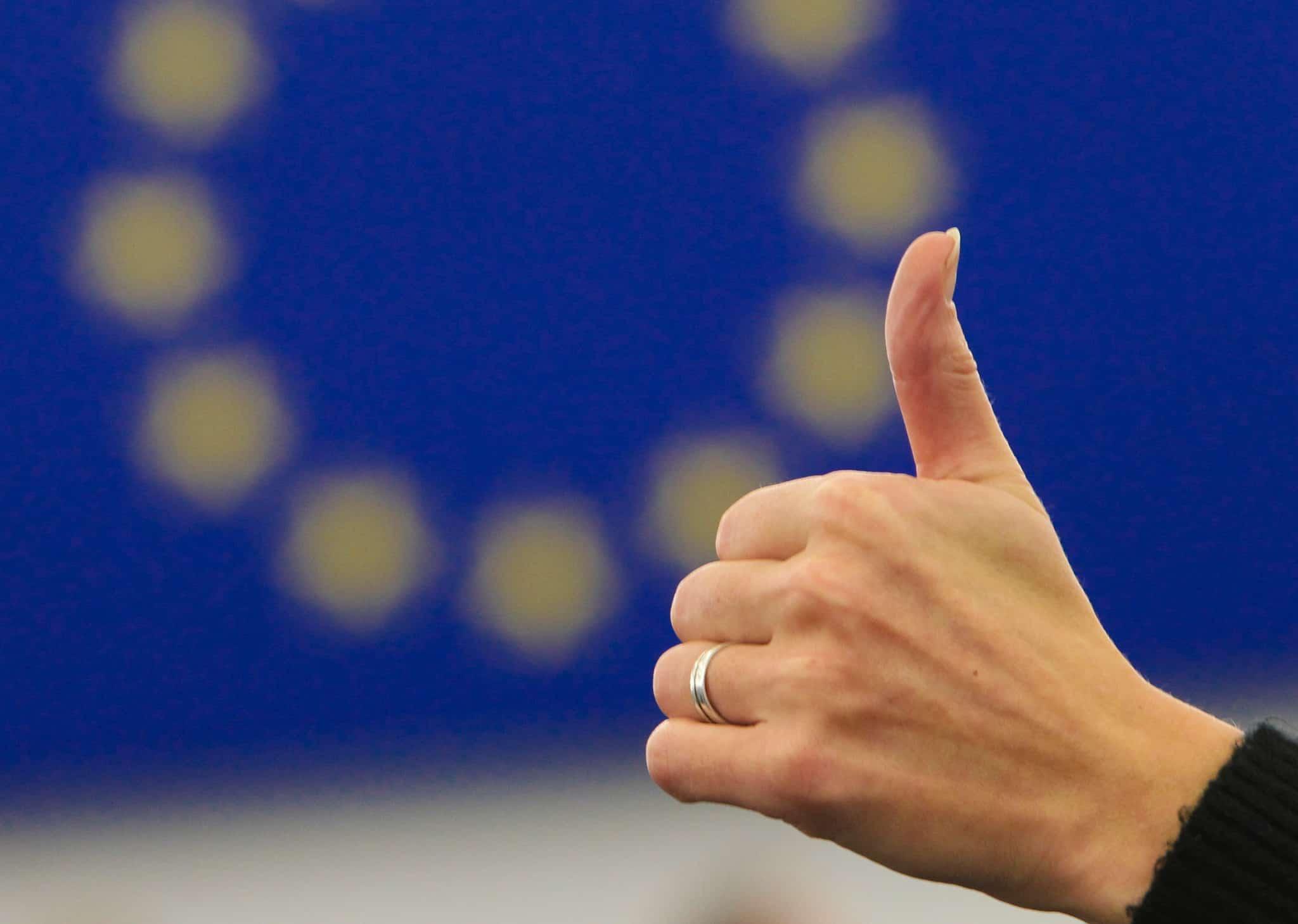 Det kritiserade vapenförslaget går igenom EU:s processer med rekordfart. Foto: Fred Marvaux