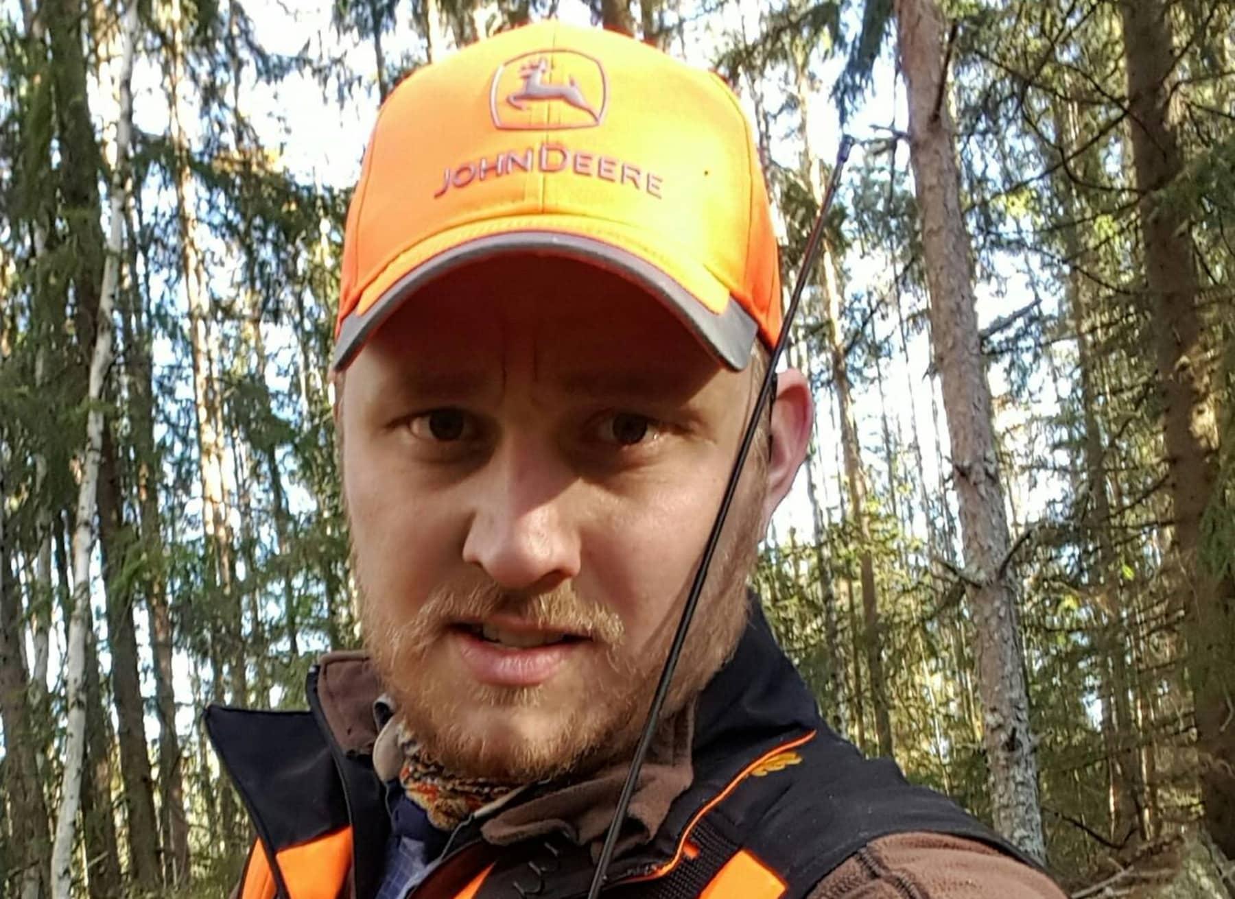 Emil Stolpe-Nordin är ordförande i Jägareförbundet Västmanland.