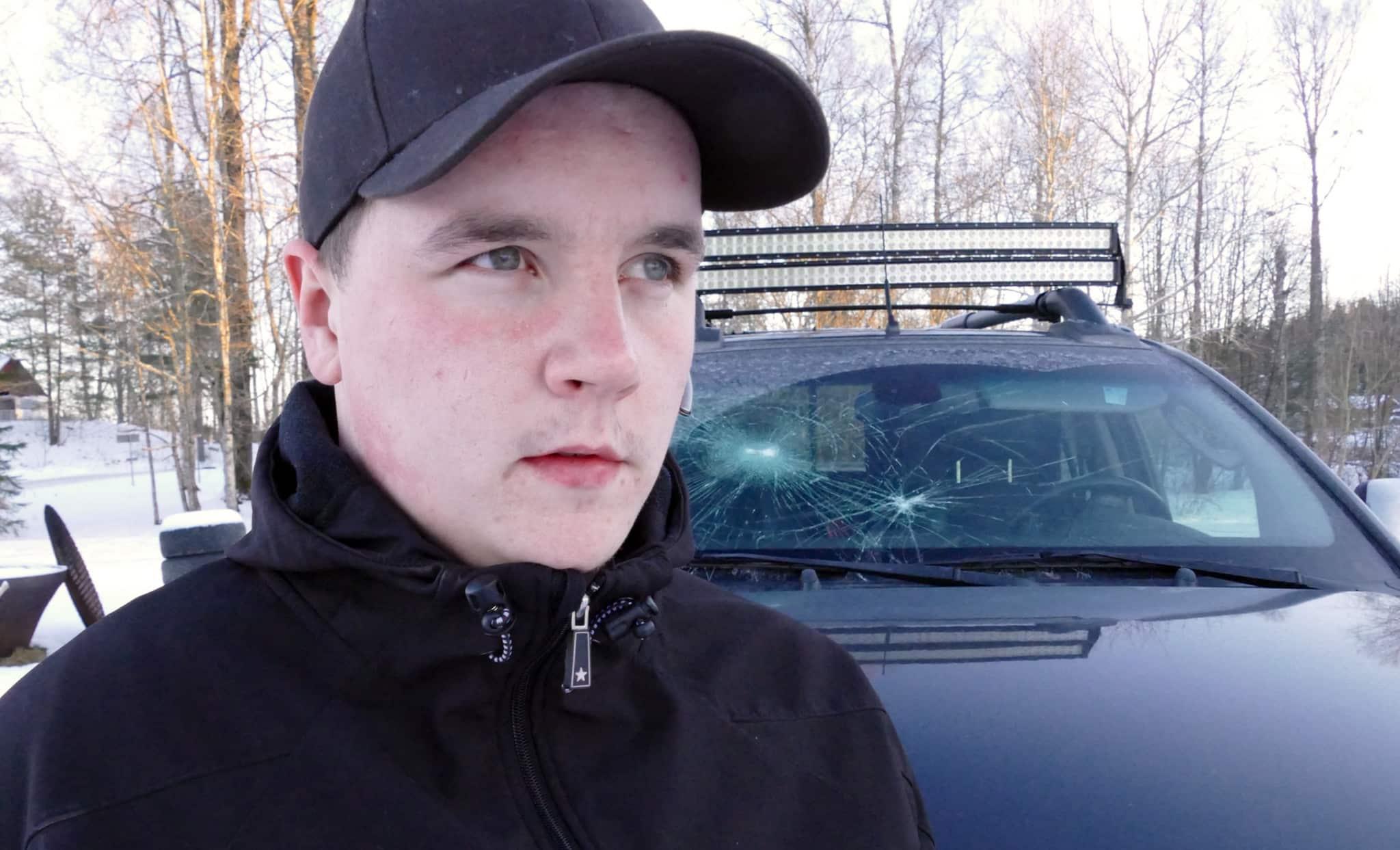 Naturskyddsföreningen anser att de hot som drabbat eftersöksjägaren Mattias Heed är oacceptabla. Foto: Boo Westlund