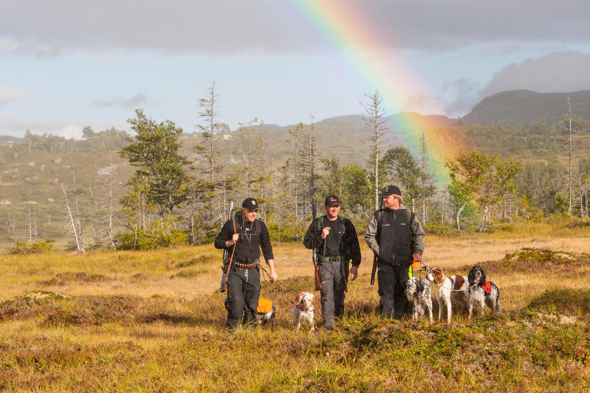 Möjligheten till jakt för marklösa jägare skulle kunna försvåras om fler samebyar också skulle få ensamrätt till småviltjakt och fiske, anser Jägareförbundet. Foto: Kjell-Erik Moseid