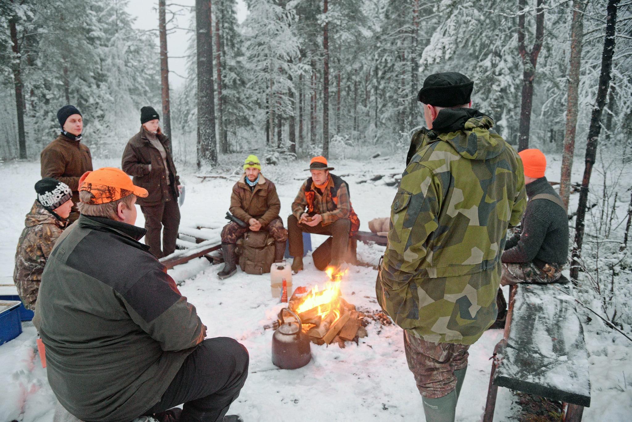 Jägarna uppmanas att föra etikdiskussioner öppet och med ödmjukhet. Foto: Lars-Henrik Andersson