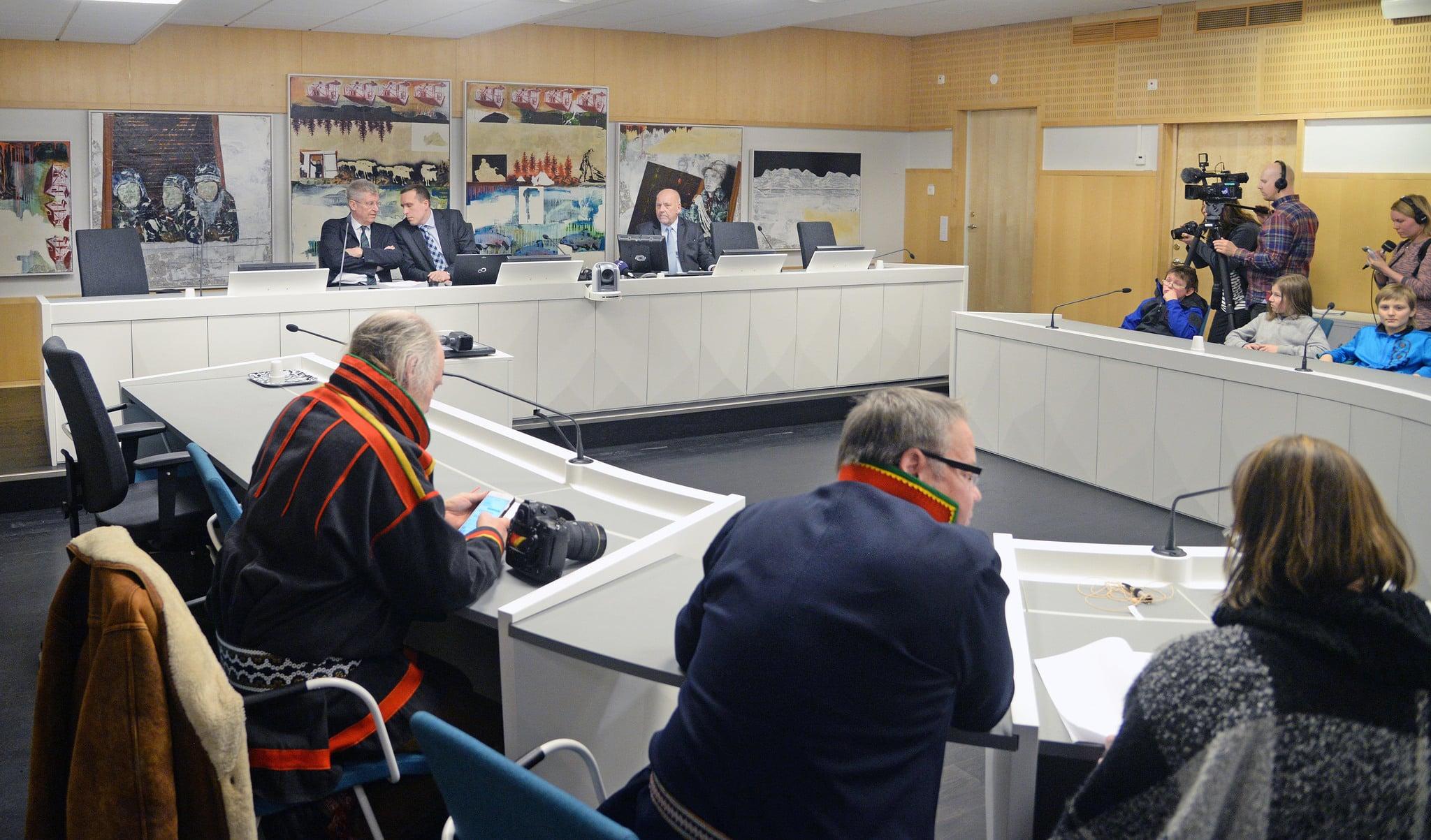 Idag meddelade Justitiekanslern Anna Skarhed att staten kommer att överklaga Girjasdomen. Foto: Lars-Henrik Andersson