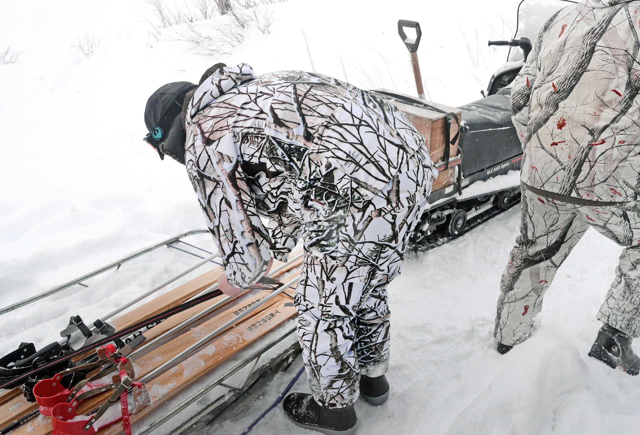 Styrelsen för Jägareförbundet i Norrbotten vill ha tydligare regler runt bland annat användningen av skoter i samband med jaktutövning. Foto: Lars-Henrik Andersson