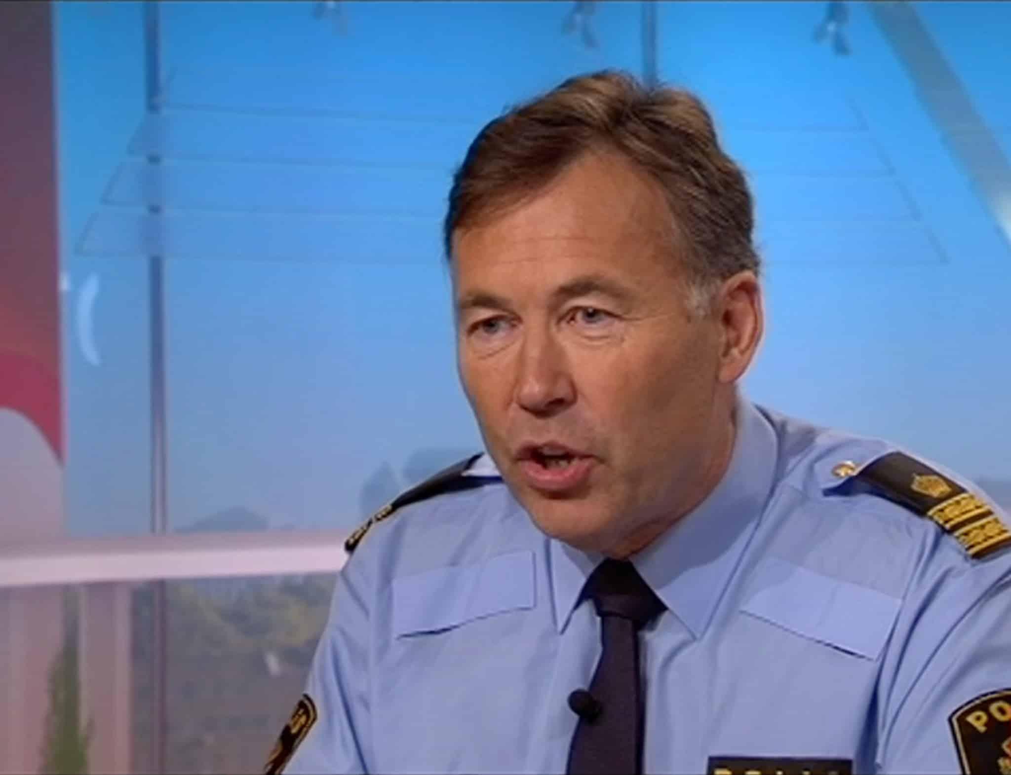 Peter Thorsell, Polismyndighetens avdelning för vapenfrågor. Foto: SVTPlay