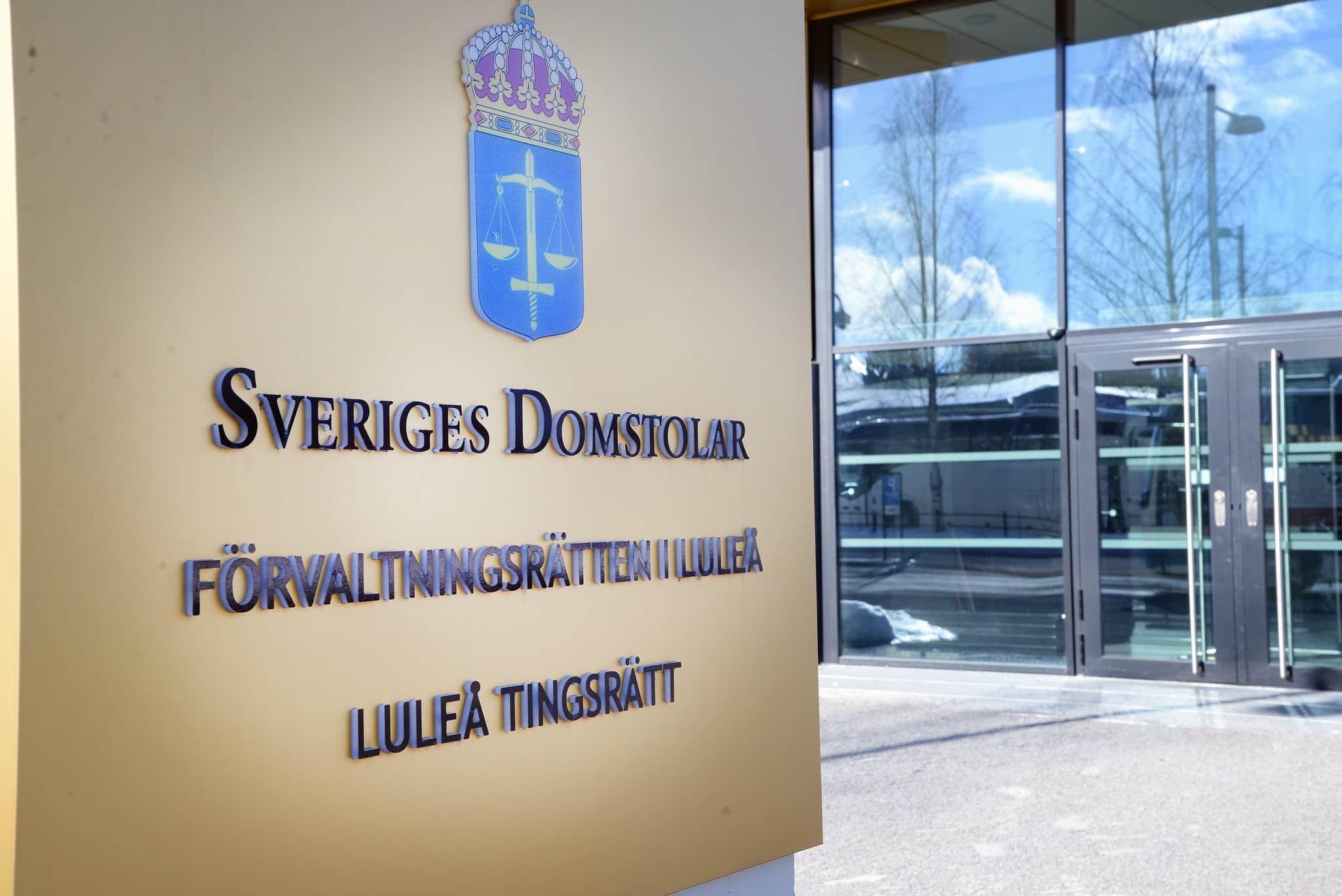 ÖVerklaganden av rovdjursjakt kommer i framtiden att hamna här på Förvaltningsrätten i Luleå. Foto: Lars-Henrik Andersson