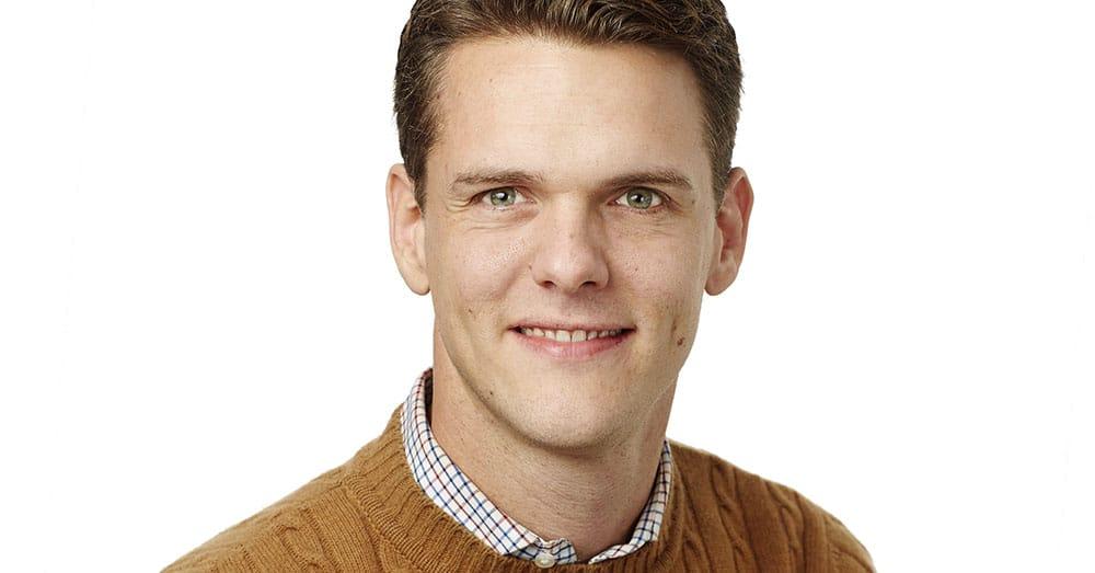 Christofer Fjellner. Foto: Peter Knutson