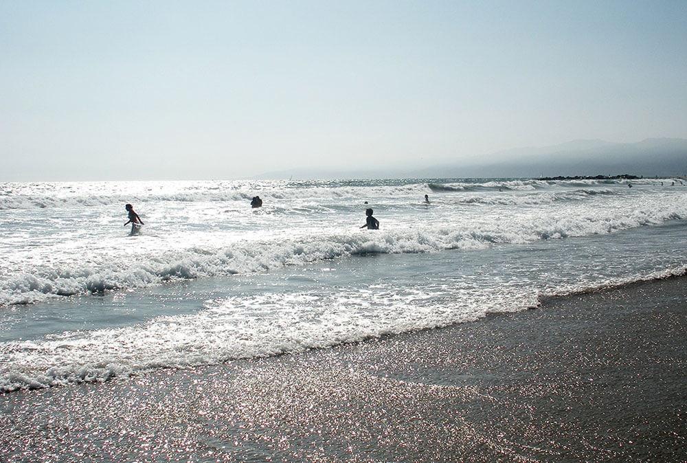 Salta bad är snart ett minne blott, när vithajen breder ut sig längs våra kuster. Foto: Jan Henricson
