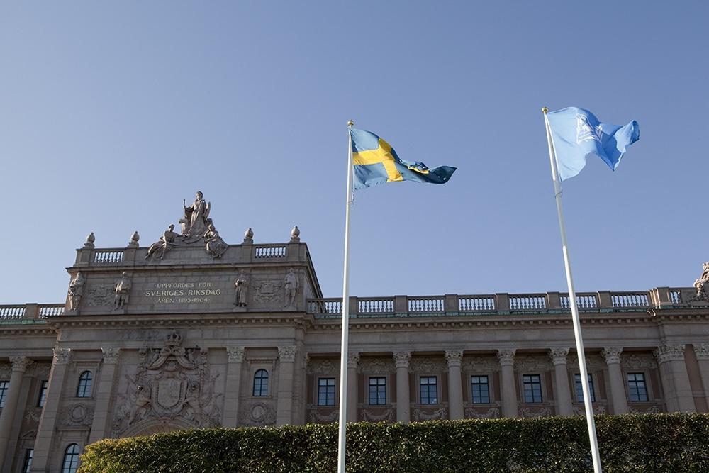 Riksdagshuset. Foto: Camilla Svensk