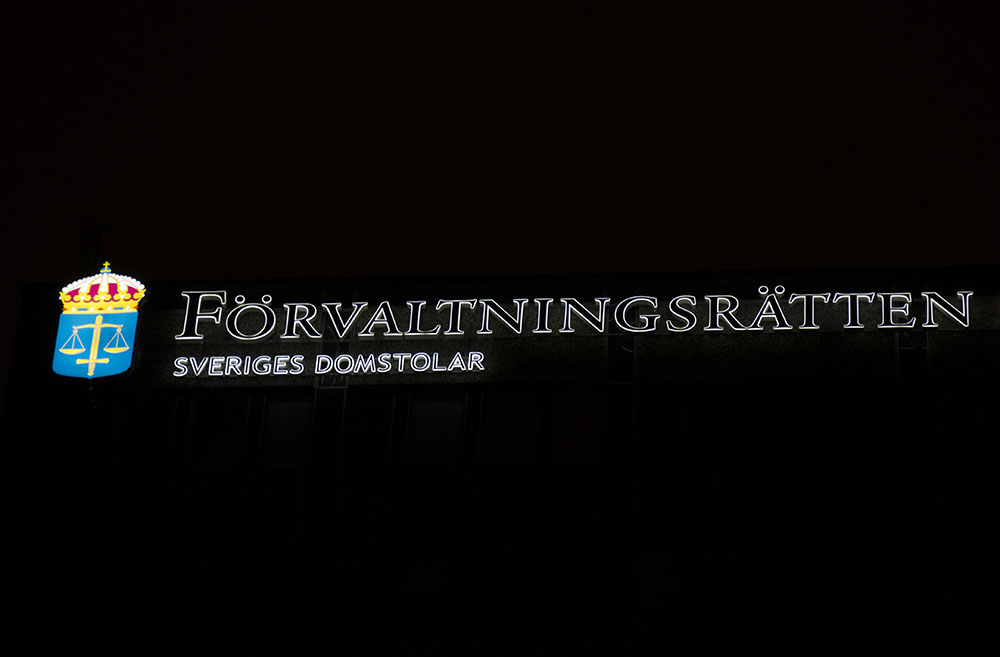 Den nya regeringens namn är Förvaltningsrätten, menar insändarskribenten. Foto: Martin Källberg