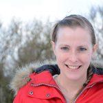 Veterinären Fanny Mauritzson är glad att hennes undersökning inte påvisat fransk hjärtmask hos jakthundar i Skåne, trots närheten till Köpenhamn där masken är vanlig. Foto: Marie Gadolin