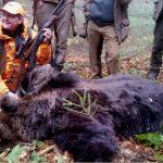 Premiärskytten Mikael Tham fällde också den största björnen.