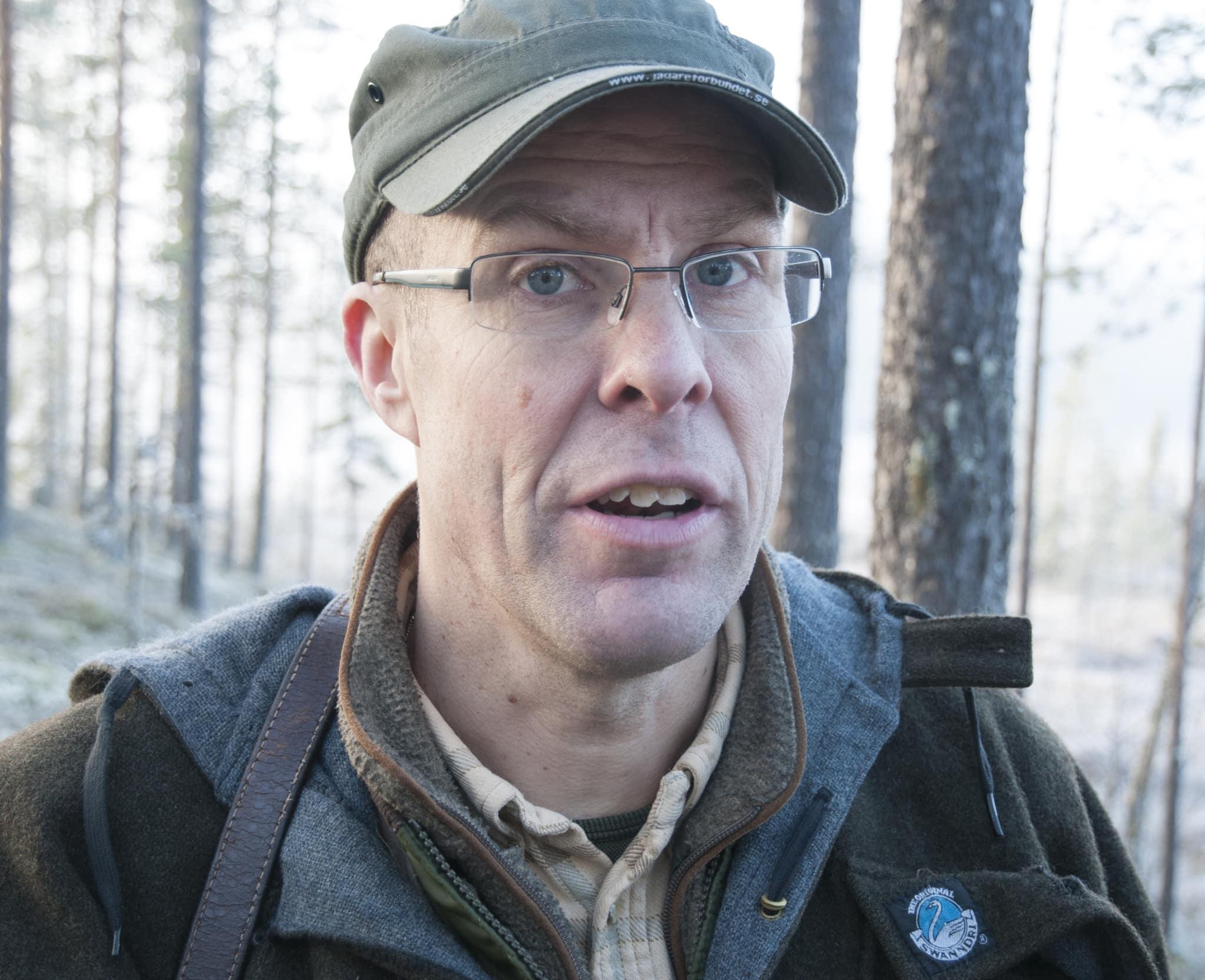 Jägareförbundets utbildningsansvarige Ulf Sterler anser att Skolverkets argument för att lägga ner jaktutbildningarna är helt befängda. Foto: Jan Henricson
